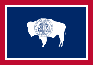 Wyoming State Flag.