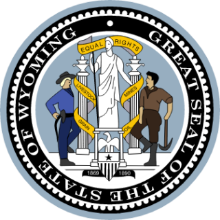 Wyoming State Seal.